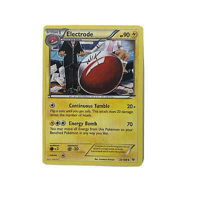 Electrode 22/108 Roaring Skies Uncommon Pokemon Card DNA GAMES