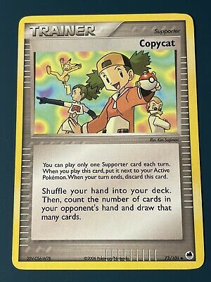 Pokemon Card Trainer Supporter Copycat Dragon Frontiers 73/101 2006