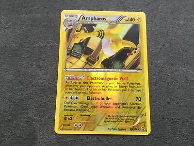 Ampharos Reverse Holo Dragons Exalted Pokemon Card 40/124 NM