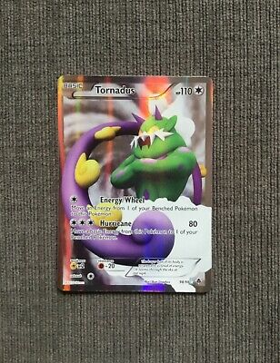 TORNADUS 98/98 Full Art Ultra Rare Emerging Powers Pokemon Card Near Mint/Mint