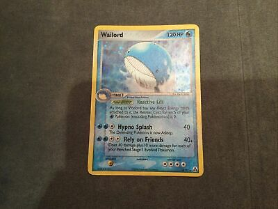Pokemon WAILORD 14/92 | HOLO RARE | Excellent | EX Legend Maker | 2006