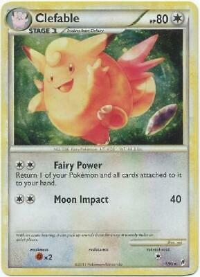 Clefable -1/95 - Holo Rare NM Call of Legends Pokemon 2B3