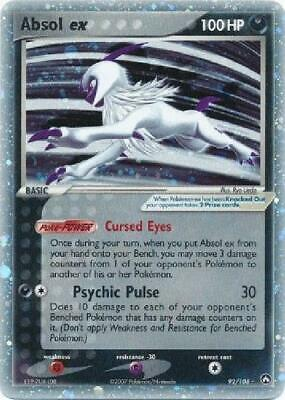 Absol ex - 92/108 - Ultra-Rare PL Power Keepers Pokemon