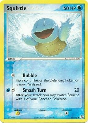 Squirtle - 83/112 - Common NM FireRed & LeafGreen Pokemon 2B3