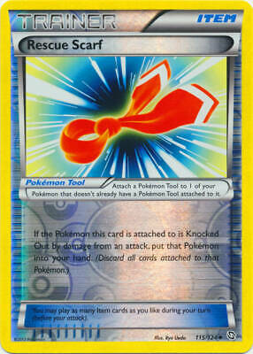 Pokemon - Rescue Scarf - 115/124 (Reverse Foil) - BW Dragons Exalted - Uncommon