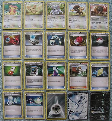 Pokemon TCG Black and White Holo, Rare, Uncommon & Common Cards [Part 4/4]