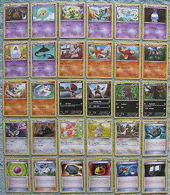 Pokemon TCG B&W Noble Victories Common & Uncommon Card Selection [Part 2/2]