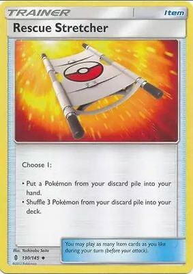 1x Pokemon TCG Guardians Rising - Rescue Stretcher 130/145 - NM/MINT