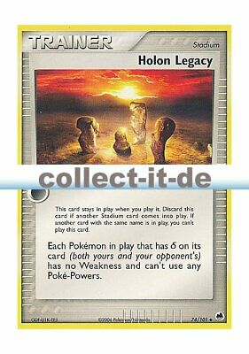 Pokemon EX Dragon Frontiers 74/101 - Holon Legacy Englisch
