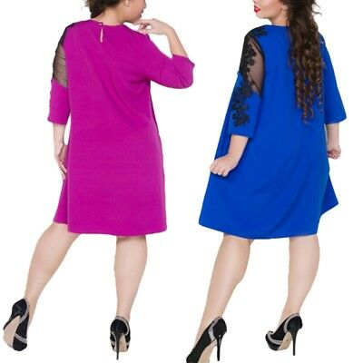 Платье Women's Plus Size Long Sleeve