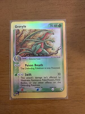 Pokemon - Grovyle - Ruby & Sapphire 31/109 - Reverse Holo Uncommon. Great Condit
