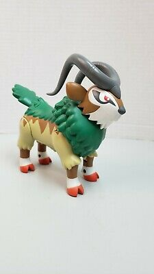 POKEMON XY LARGE 6 INCH BATTLE ACTION GOGOAT TOMY Nintendo Rare HTF Works Gen IV