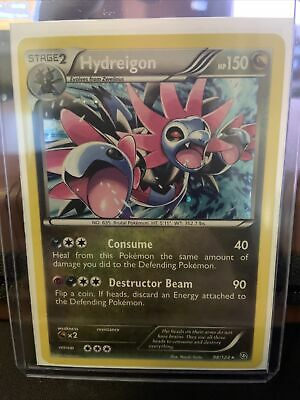 x1 Hydreigon - 98/124 - Rare - Reverse Holo Pokemon BW6 Dragons Exalted M/NM