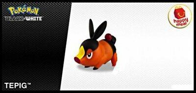 Pokemon Black & White Happy Meal Tepig Action Figure [Loose]
