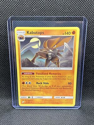 Pokemon KABUTOPS 78/181 - Team Up - RARE - MINT