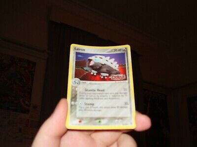 Lairon Holo Pokemon Card Power Keepers 32/108 (Great Condition)