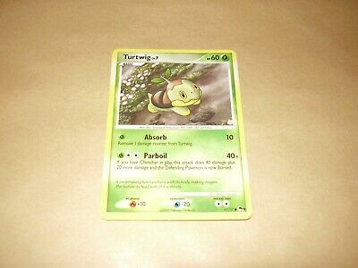 Turtwig Non-Holo Pokemon Card Promo POP Series 9 17/17 (Very Good Condition)