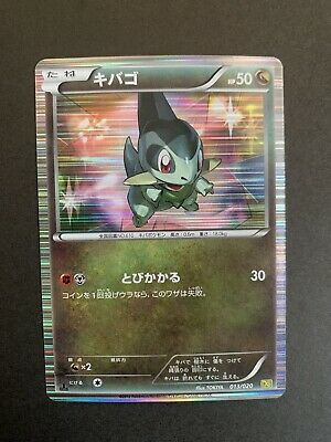 Japanese Dragon Selection Vault DS Holo Axew 013/020 Pokemon Trading Card LP NM