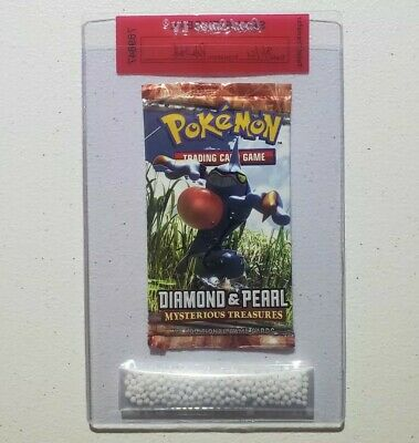 Pokemon Diamond & Pearl Mysterious Treasures Booster - Croagunk - New & Sealed