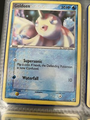 GOLDEEN - 61/107 - EX Deoxys - Common - Pokemon Card - NM