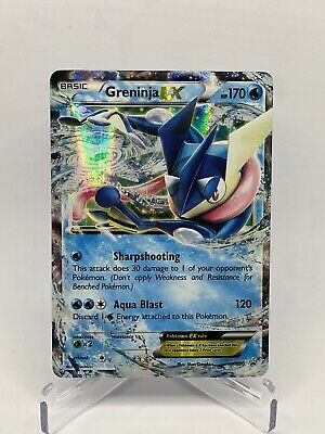 Greninja EX XY20 Black Star Promo NM/M Pokemon Card