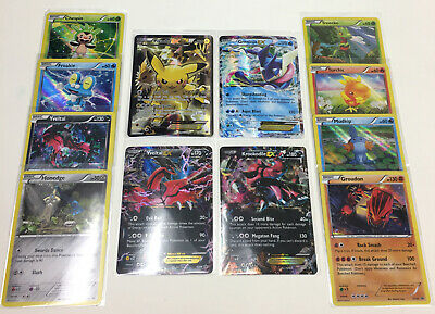 Pokemon Promo Bundle - Pikachu EX XY124 + Greninja XY20 + 10 MORE VLP/NM