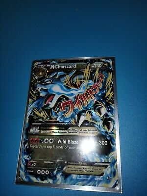 2014 Pokemon XY M Charizard Ex - Holo - Flashfire 69/106