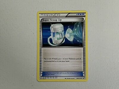 Super Scoop Up Black And White Trainer Pokemon Card 103/114 NM