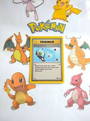 ENERGY SEARCH 59/62 unlimited | Trainer Pokemon TCG Fossil Set WoTC NM