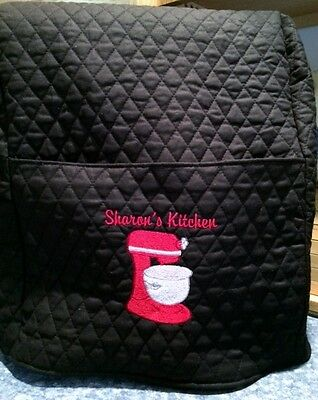 Разное Quilted personalized embroidered Kitchenaid mixer