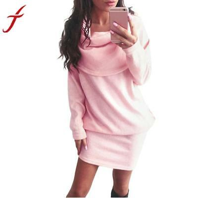 Платье Autumn Winter Fashion Women Dress
