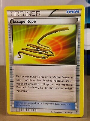 Escape Rope  127/160 X&Y: Primal Clash Uncommon NM/Mint Pokemon