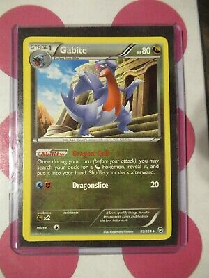 Pokemon Gabite 89/124 Dragons Exalted Uncommon *combined shipping*