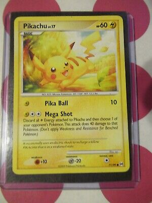 Pokemon Pikachu Lv. 17 71/99 Arceus Common *combined shipping*