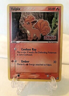 2007 Pokemon Vulpix - Holo EX Power Keepers Stamp 69/108