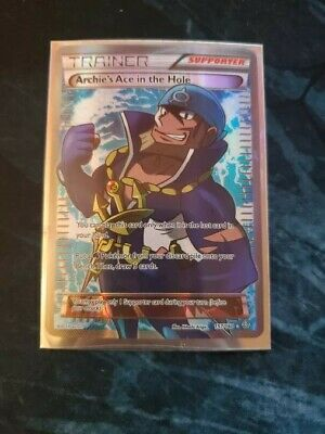 Pokemon - Full Art Trainer Archie's Ace in the Hole 157/160 - Primal Clash