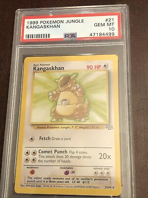 PSA 10 1999 Pokemon Jungle #21 Kangaskhan