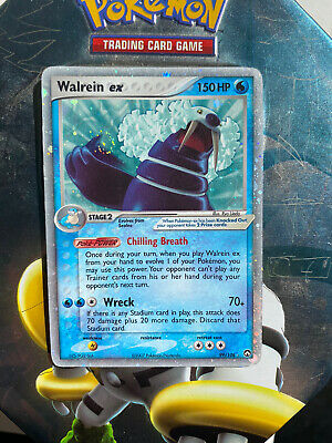 Pokemon Walrein EX 99/108, Holo UltraRare EX Power Keepers *SEE PICS Condition*