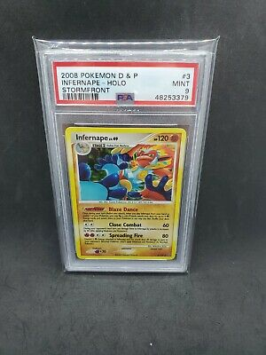 2008 Pokemon Diamond & Pearl Stormfront Infernape Holo 3/100 PSA 9