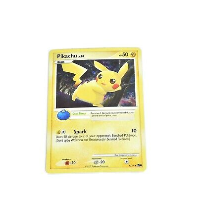 HOLO Pikachu 9/17 POKEMON TCG Card Pop Series 6 LP
