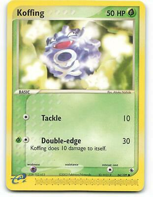 54/109   Koffing   EX Ruby Sapphire   Pokemon Card   Mint