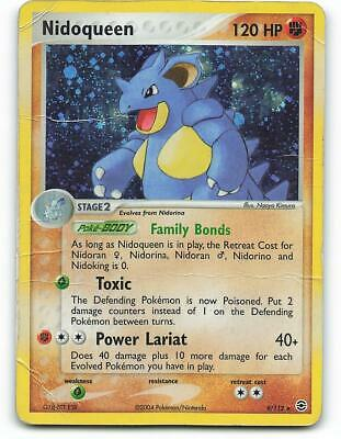 8/112 | Nidoking HOLO | EX FireRed LeafGreen | Pokemon Card | Played