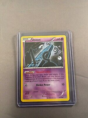 Pokemon Unown 30/98 Reverse Holo Common Ancient Origins Lightly Played