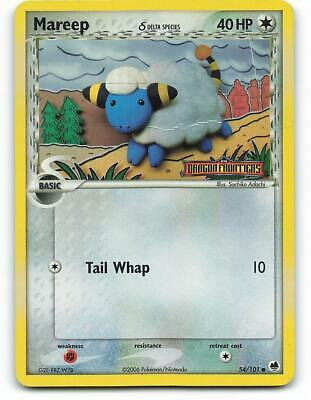54/101 | Mareep HOLO | EX Dragon Frontiers | Pokemon Card | Played