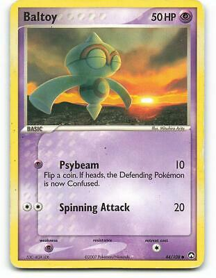 44/108 | Baltoy | EX Power Keepers | Pokemon Card | Played