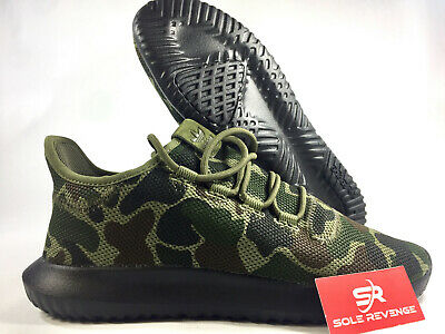 80257e297503 NEW! adidas Originals TUBULAR SHADOW Knit CAMO Green Brown Black SHOES  CP8682 c1