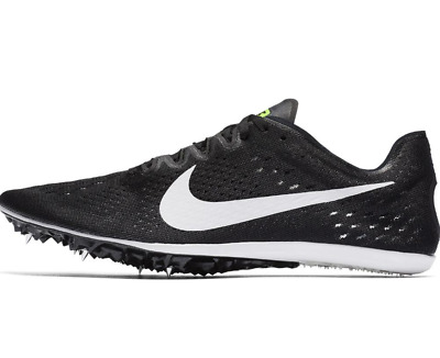 best value 46f38 3349d Nike Zoom Victory 3 Track Running Spikes Black White Volt SZ ( 835997-017 )