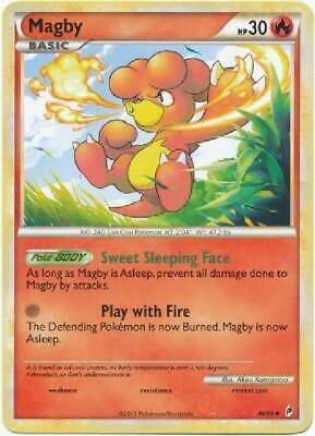 Magby - 46/95 - Uncommon PL Call of Legends Pokemon 2B3