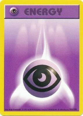 Psychic Energy - 101/102 - Common (Shadowless) PL Promo Base Set Pokemon 2B3