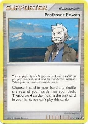 Professor Rowan - 112/130 - Uncommon PL Diamond & Pearl Pokemon 2B3